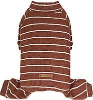 Костюм для животных Добаз , Dobaz Stripes cotton бордовая полоска