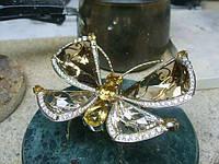 Украшения для интерьера из золота с драгоценными камнями на заказ.