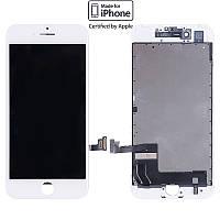 Дисплейный модуль (дисплей + сенсор) для iPhone 7, белый, оригинал (orig)
