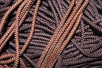 Шнур плотный 4мм (100м) коричневый шоколад , фото 1