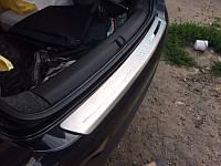 Хром накладки на Volkswagen Jetta 06-11 на зад. бамп. LV-J205 Libao