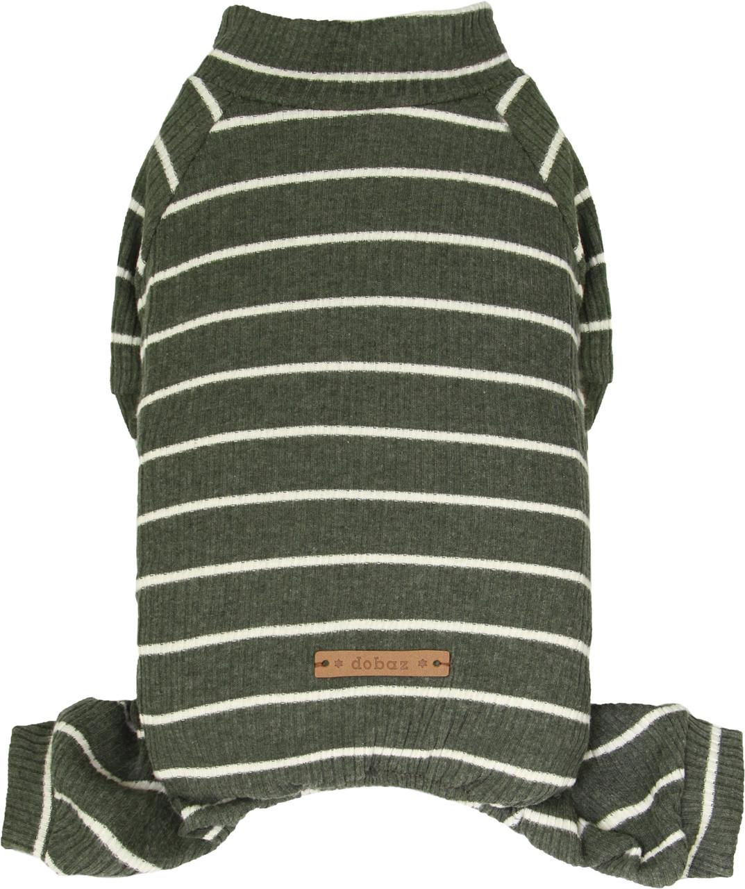 Костюм для животных Добаз , Dobaz Stripes cotton оливковая полоска