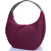 Элегантная женская сумка из замша GALA GURIANOFF (ГАЛА ГУРЬЯНОВ) GG1310-17 бордовый