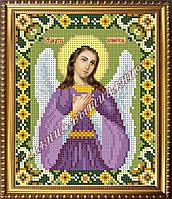 Схема для вышивания бисером Икона Ангел хранитель