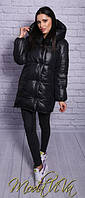 Куртка одеяло черная