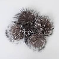 Помпон з натурального хутра єнота