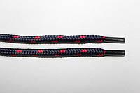 Шнурки 5мм плотные т.синий+красный