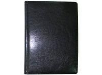 Ежедневник датированный 2018 BRISK OFFICE SARIF А6 (9,5х13,5)  Черный