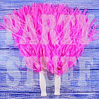 Султанчики для черлидинга розовые, 36 см