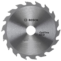 Циркулярный диск 130x20/16x18 Bosch Optiline ECO 2608641781