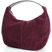 Элегантная женская сумка из замша GALA GURIANOFF (ГАЛА ГУРЬЯНОВ) GG1320-17 бордовый