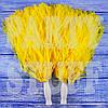 Помпоны черлидера желтые, 36 см