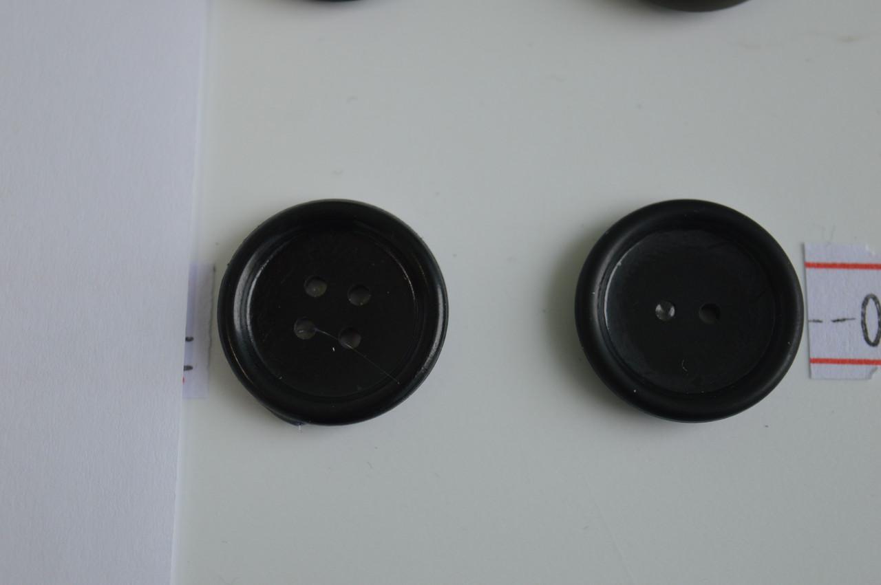 колір чорний ґудзик амінопласти 2 ударна