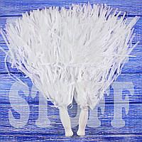 Помпоны для черлидеров белые, 36 см