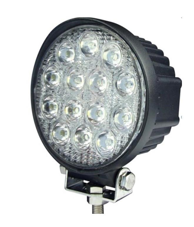 Прожектор led черный рассеянный 2940lm