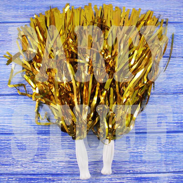 султанчики золотистые фольгированные