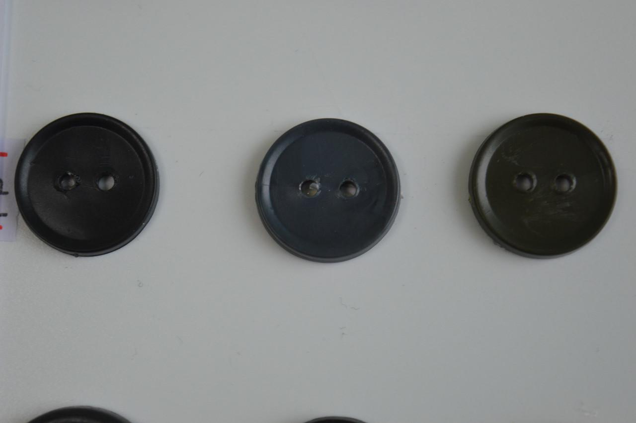 цвет серый пуговицы обычные цветные 2 ударные 17мм