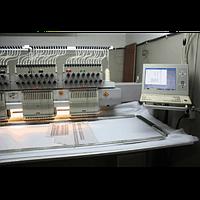 Вышивальная машина ZSK, 4 головки по 11 цветов,