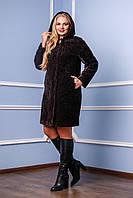 Демисезонное женское пальто  В-981 у Kelly-PL Тон 4   Favoritti  46-60 размеры