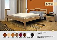 Деревянная кровать Грета Мебельсон