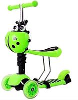 Детский самокат Scooter 3 в 1 Божья Коровка AB