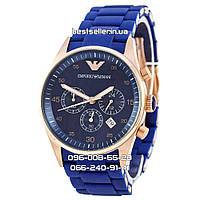 Часы Armani AR5806 Blue (Кварц). Реплика: AAA.
