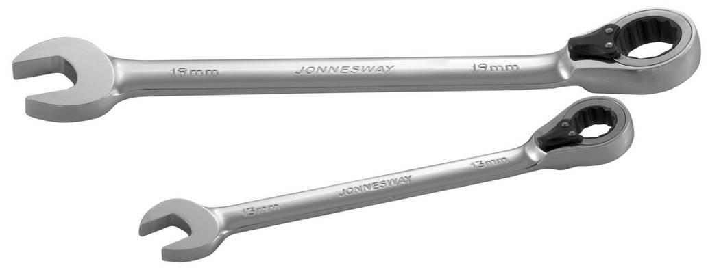 Ключ комбинированный JONNESWAY W66109 трещоточный 72 зубца 9мм, фото 2