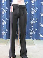 Молодежные брюки черного цвета, р.42 код 1731М