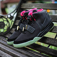 "Nike Air Yeezy II ""Black/Solar Red"""