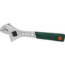 """Ключ разводной JONNESWAY W27AT6 пластиковая рукоятка 6"""", 150мм"""