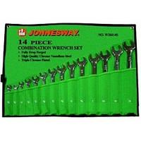 """Набор комбинированных ключей JONNESWAY W26414S (3/8""""-1-1/4"""") 14 пр."""
