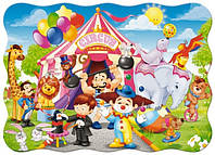 Пазлы Цирк, 30 элементов, Castorland В-03419