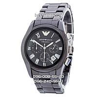 Часы Armani 4999 Black Ceramic (Кварц). Реплика: AAA., фото 1