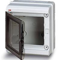 Бокс промышленный ABB Europa навесной серый с прозрачной дверцей IP65