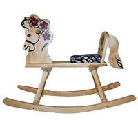 Лошадка-качалка деревянная LK160 ТМ (Дерево)