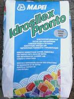 Idrosilex-Pronto (Planiseal) жесткая минеральная гидроизоляционная смесь для защиты стройконструкций
