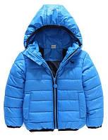 """Детская демисезонная куртка для мальчика на 3, 4, 6 лет """"Блэйд голубая"""""""