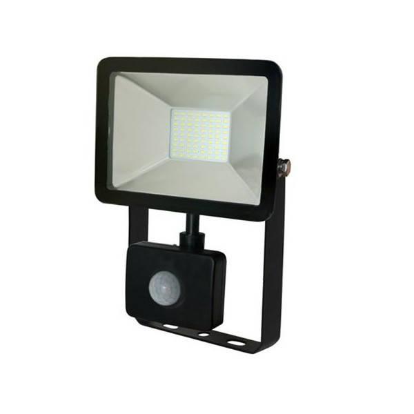 Светодиодный прожектор SMD с датчиком движения  30W 6500K 1000Lm