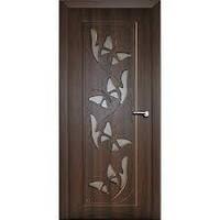 Дверь межкомнатная эконом ТМ Феникс серия Монолит модель Баттерфляй