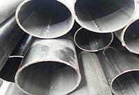 Алюминиевая труба овальная 23,2x13,4x2,1 мм анод и без покр. цена купить на складе доставка порезка