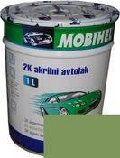 Краска Mobihel Акрил 0,1л 325 Липа Зеленая.