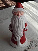 Новогодняя игрушка Дед мороз 30см и снеговик