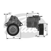 Натяжитель поликлинового ремня для Mercedes-Benz Sprinter , Vito 639 , Vito 638 , W210 , W211 ( GATES T38415 )