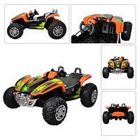 Детский электромобиль БАГГИ ZP 6058-7: 12V, 90W, 8км/ч, 2 места - Оранжевый- купить оптом