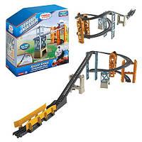 Набор рельс и спуск паровозик Томас Fisher-Price TrackMaster Sodor Spiral Expansion Pack 45 единиц