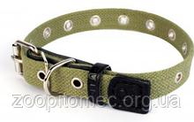 Ошейник для собак усиленный хлопковый Collar 6755 безразмерный шир 25 мм, длина 52 см