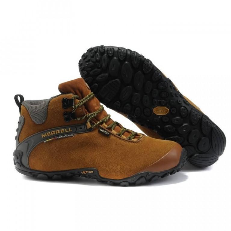 Зимние мужские кроссовки Merrell Light Brown - Интернет магазин обуви  «im-РоLLi» в 911119a9258d7