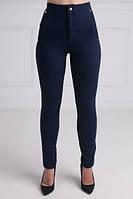 Женские брюки-лосины синие, р.М,L,XL код 1293М