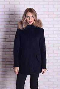 Женское зимнее кашемировое пальто