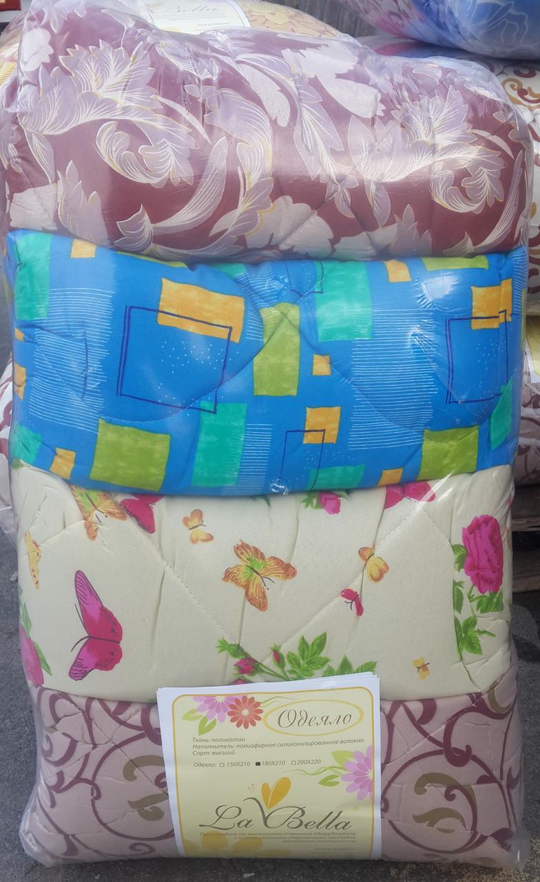 Красивое одеяло двуспальное La Bella в асортименте